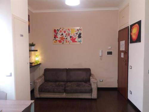 Гостиная зона в Casa Vacanze Lory