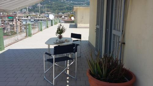 A balcony or terrace at Soleluna