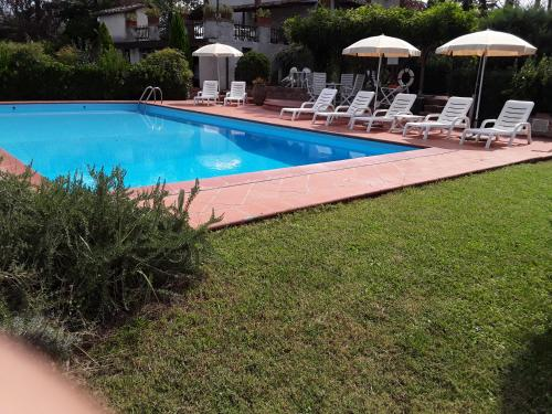 The swimming pool at or close to Agriturismo Il Colle