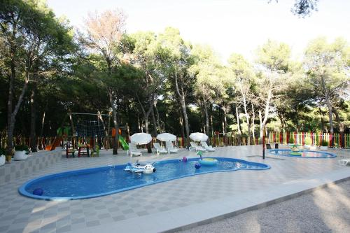 The swimming pool at or near Hotel Zora