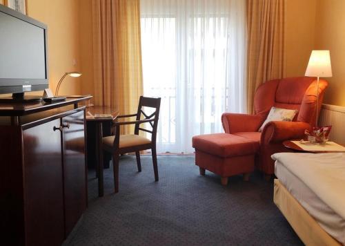 Гостиная зона в Akzent Hotel Höltje