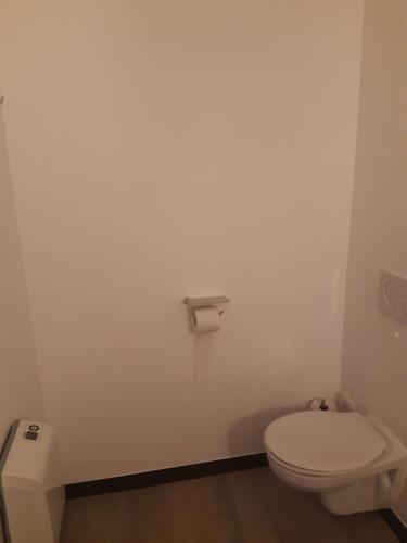 A bathroom at ibis Mons Centre Gare
