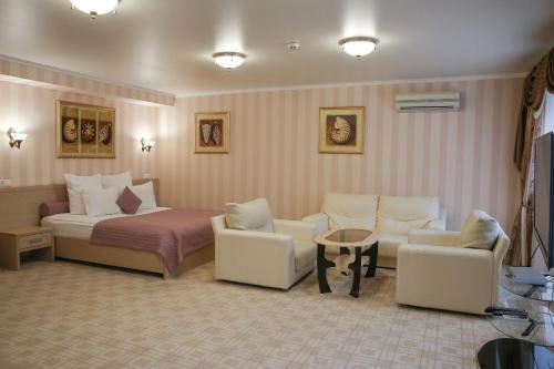 Гостиная зона в СеверСити гостиница