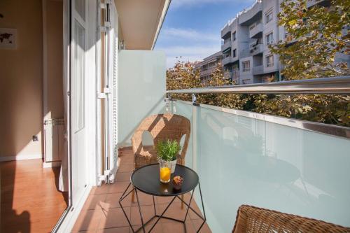 A balcony or terrace at Bbarcelona Apartments Sagrada Familia Flats