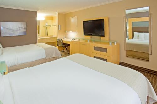 A bed or beds in a room at Holiday Home Park Central Port Arthur