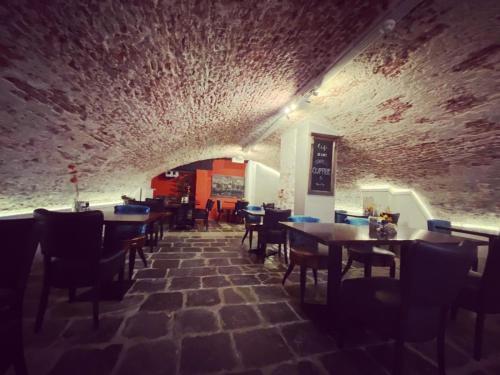 Een restaurant of ander eetgelegenheid bij Hotel Zilt
