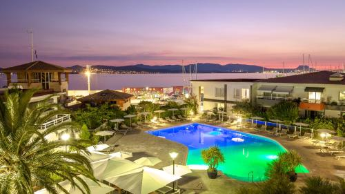 A view of the pool at Best Western Plus La Marina or nearby