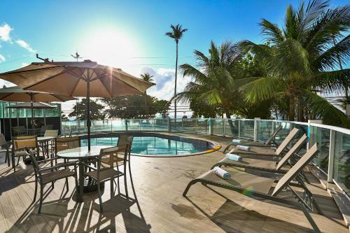 The swimming pool at or near Radisson Recife