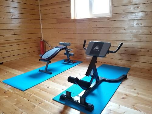 The fitness center and/or fitness facilities at Kupol