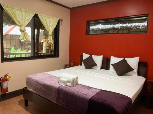 Кровать или кровати в номере DaRosa Del Mar