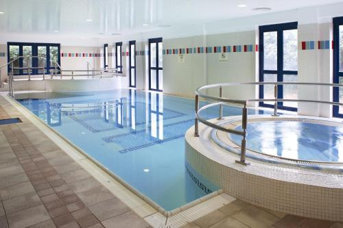 The swimming pool at or near The Parkavon Hotel