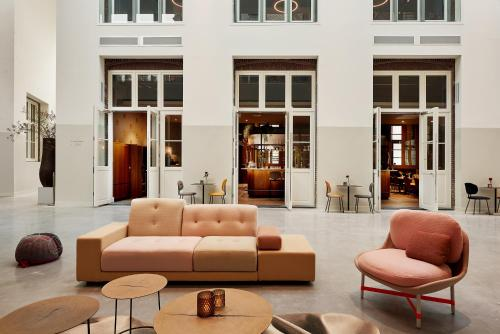 A seating area at Hotel Mariënhage