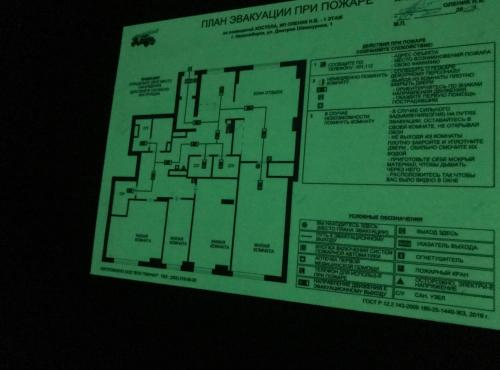 The floor plan of No Bears Hostel