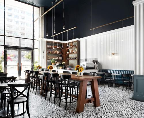A restaurant or other place to eat at Le Germain Hotel Toronto