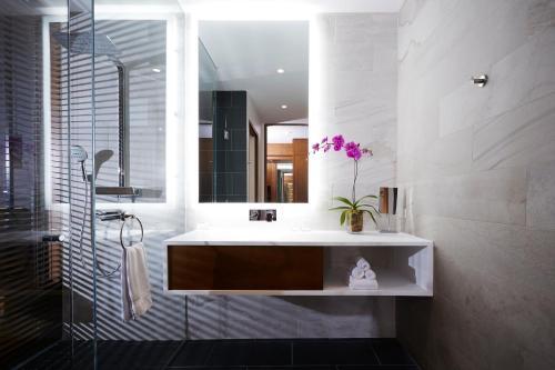 A bathroom at Le Germain Hotel Toronto