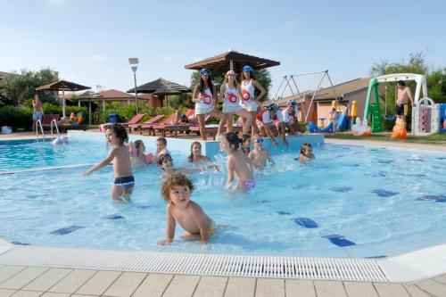 The swimming pool at or near Cala Rosa Club Hotel