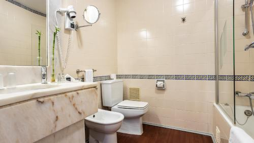 Kylpyhuone majoituspaikassa Pousada de Sagres