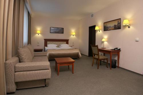 Кровать или кровати в номере S7 Hotel