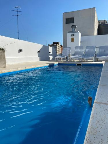 The swimming pool at or near Descanso