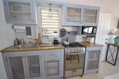 Una cocina o zona de cocina en Antigua Village Beach Resort