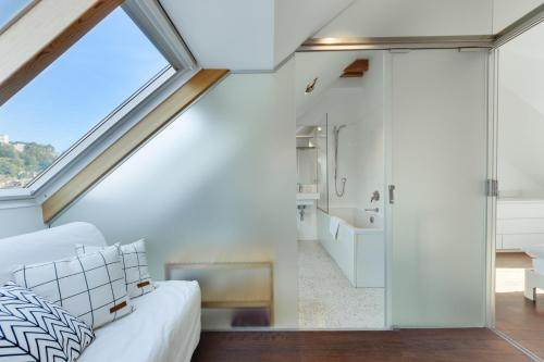A bathroom at Fine Ljubljana Apartments