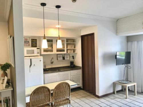 A kitchen or kitchenette at Atlantic Towers - Flat Ondina