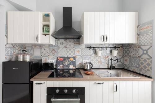 Cucina o angolo cottura di Casa di Clementina