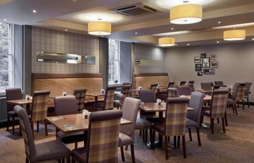 A restaurant or other place to eat at Leonardo Edinburgh City