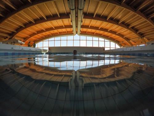 A piscina em ou perto de Zmar Eco Experience