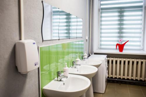 Ванная комната в Хостелы Рус- Фрунзенская