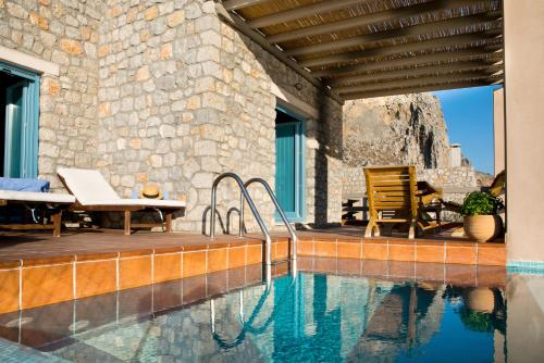 The swimming pool at or near Petra Boutique Homes