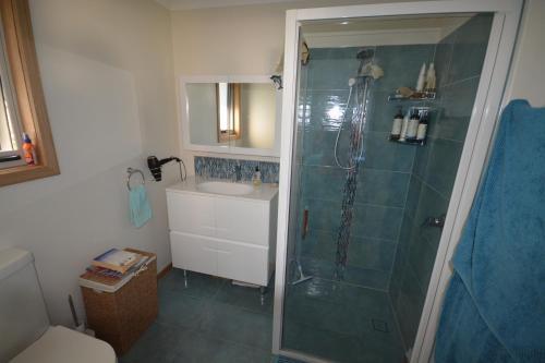 A bathroom at Seascape Beach House