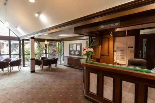 The lobby or reception area at The Chichester Hotel