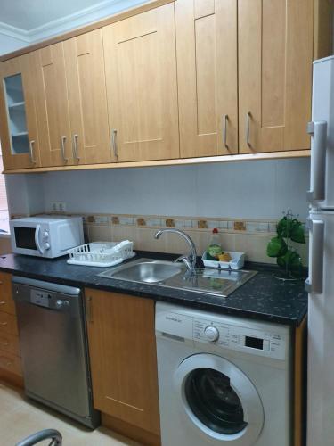 Una cocina o zona de cocina en Apartment Svetlana