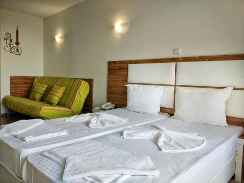 Cama o camas de una habitación en Elizabeth Dy Boutique Hotel
