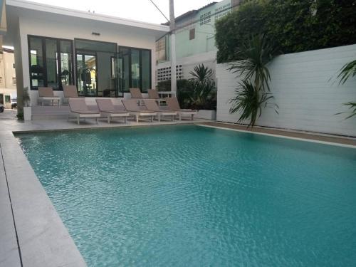 The swimming pool at or near Royal Pavilion Hua Hin