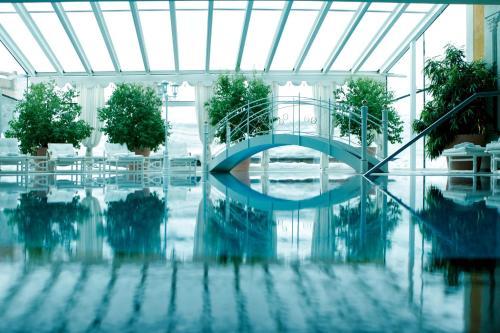 The swimming pool at or near Burg Vital Resort