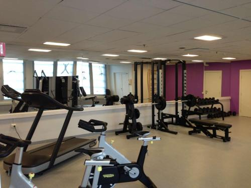 The fitness center and/or fitness facilities at Radisson Blu Caledonien Hotel, Kristiansand