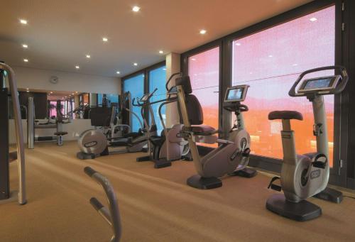 Salle ou équipements de sports de l'établissement Radisson Blu Hotel, Lucerne