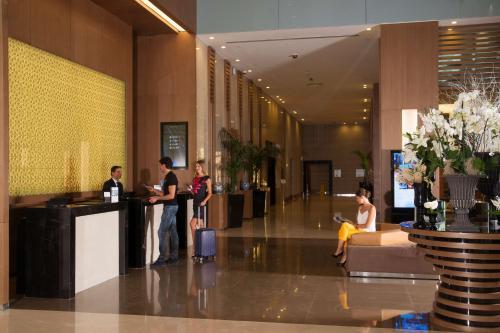The lobby or reception area at Radisson Blu Hotel, Kayseri