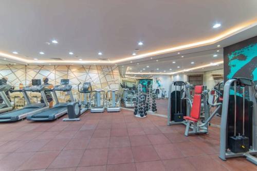 مركز اللياقة و/أو مرافق اللياقة في Solis Villa Resort Riyadh