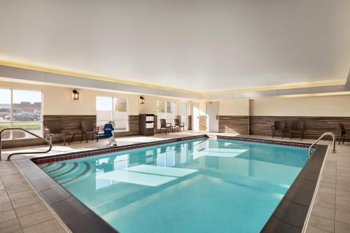 The swimming pool at or near Fairfield Inn & Suites Wheeling - St. Clairsville, OH