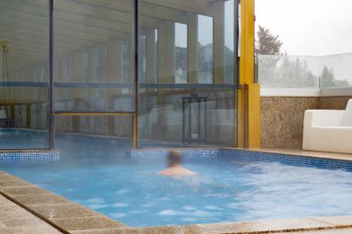 A piscina em ou perto de Luna Hotel Serra da Estrela