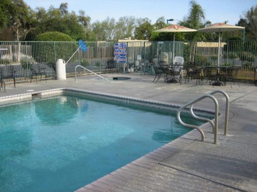 The swimming pool at or near Edge Water Inn