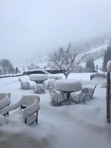 Chez Jeanmyvonne during the winter