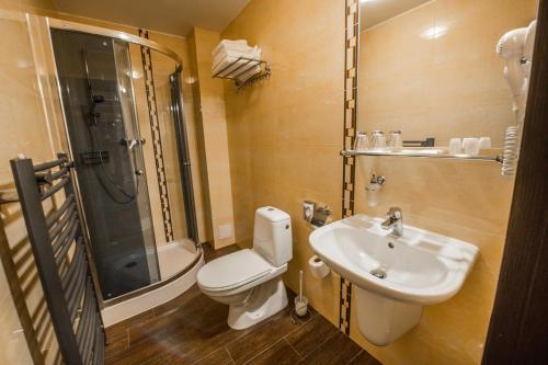 Kúpeľňa v ubytovaní Hotel Europa