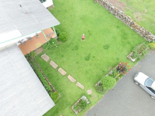 Uma vista aérea de Pousada Morro Grande