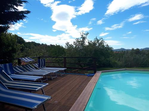 The swimming pool at or close to Residence Montebello