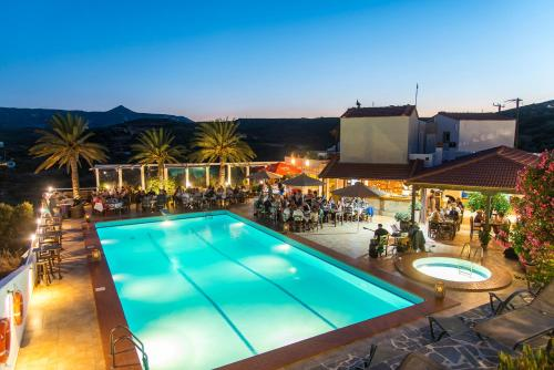 A view of the pool at Castri Village Hotel or nearby