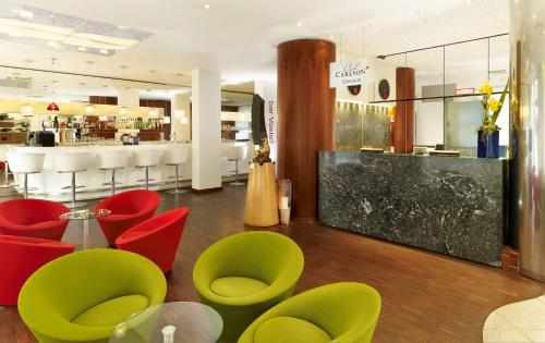 The lobby or reception area at Park Plaza Berlin Kudamm